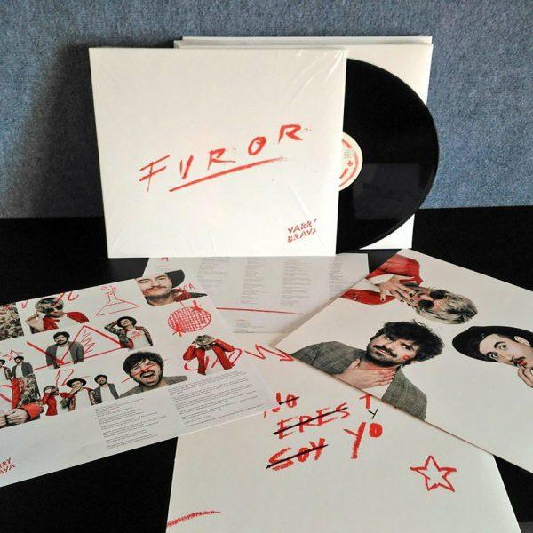 'Furor' ya tiene formato en vinilo (Edición Limitada)