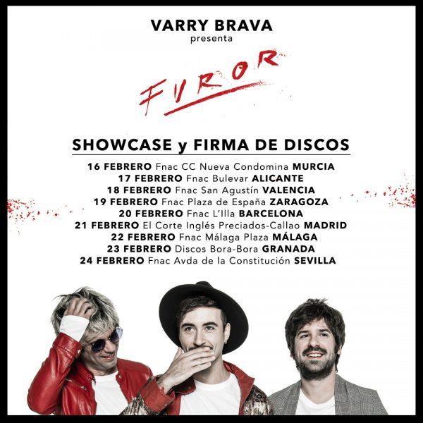 Showcase y firma de discos de 'Furor' (INFO)
